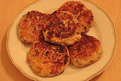 Schinken - Porree - Käse - Laibchen 10