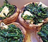 Feta - Spinat - Champignons (Bild)