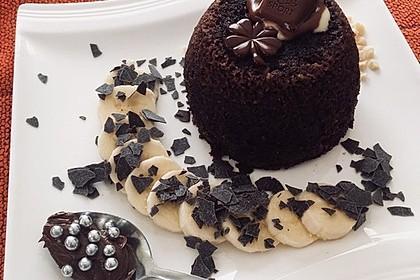 4 Minuten - Nuss - Tassenkuchen für die Mikrowelle 3