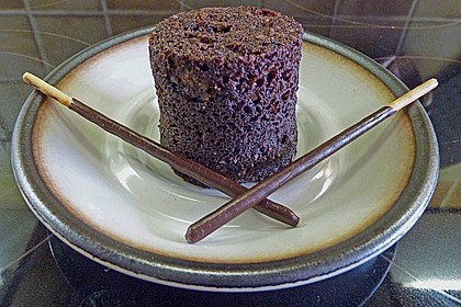 4 Minuten - Nuss - Tassenkuchen für die Mikrowelle 27