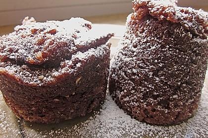 4 Minuten - Nuss - Tassenkuchen für die Mikrowelle 24