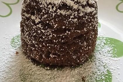 4 Minuten - Nuss - Tassenkuchen für die Mikrowelle 15