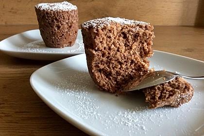 4 Minuten - Nuss - Tassenkuchen für die Mikrowelle 10