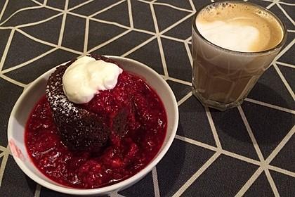 4 Minuten - Nuss - Tassenkuchen für die Mikrowelle 6
