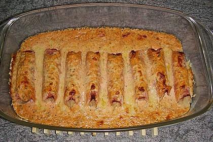 Sauerkraut in Schinken gebacken 2