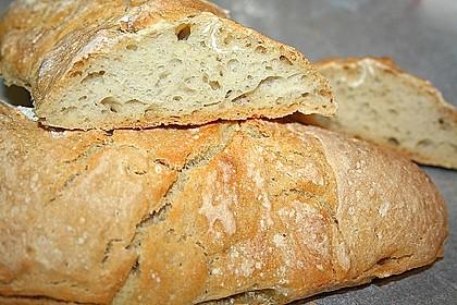 Ciabatta mit Weizensauerteig 3