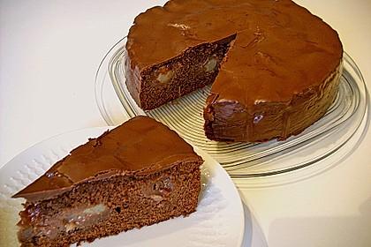 Birnenkuchen mit dem schokoladigsten Schoko - Schokoladen - Schock 2