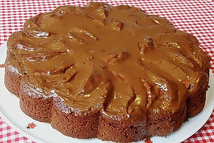 Birnenkuchen mit dem schokoladigsten Schoko - Schokoladen - Schock 11
