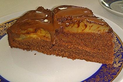 Birnenkuchen mit dem schokoladigsten Schoko - Schokoladen - Schock 8