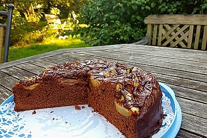 Birnenkuchen mit dem schokoladigsten Schoko - Schokoladen - Schock 0