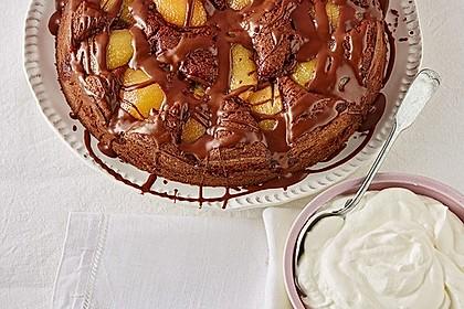 Birnenkuchen mit dem schokoladigsten Schoko - Schokoladen - Schock 1