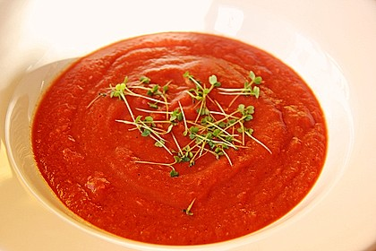 Cremige Rote Bete - Möhren - Suppe 7