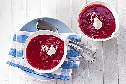 Cremige Rote Bete - Möhren - Suppe 0
