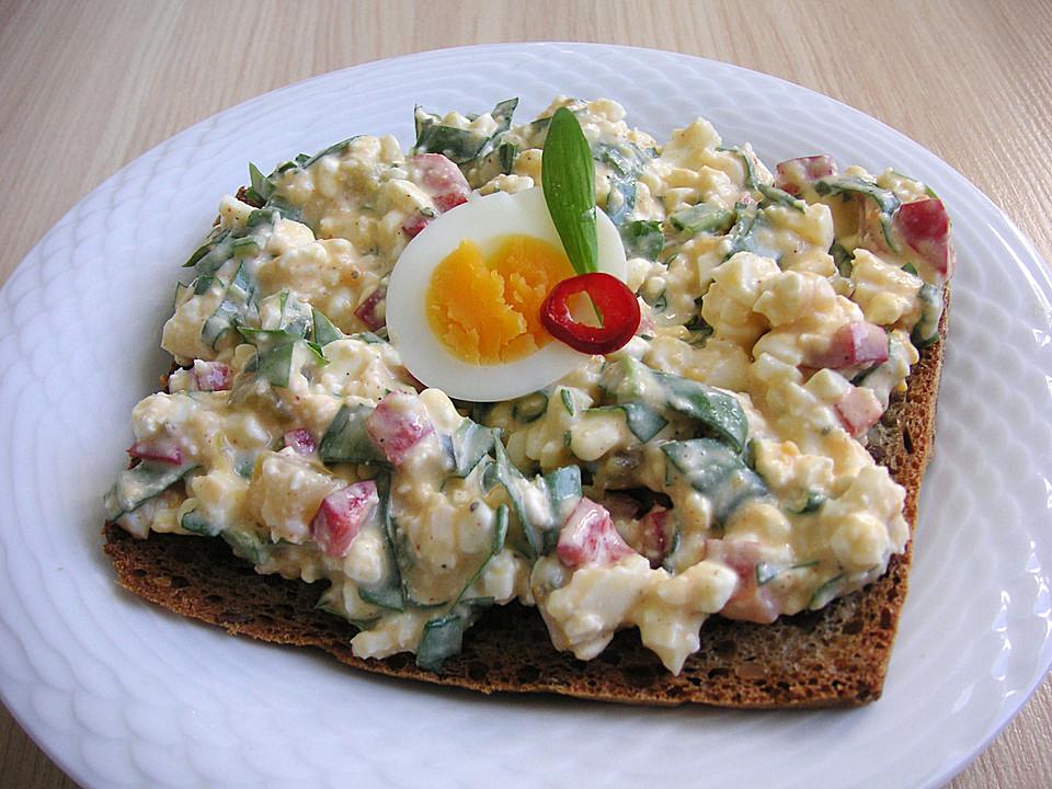 Hüttenkäse - Eier Aufstrich (Rezept mit Bild) von Rocky73 ...