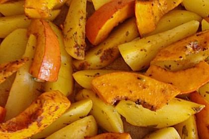 Kartoffel - Kürbis - Wedges 8