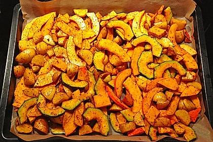 Kartoffel - Kürbis - Wedges 1