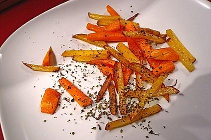 Kartoffel - Kürbis - Wedges 5