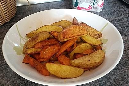 Kartoffel - Kürbis - Wedges 3