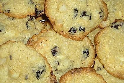 White Chocolate Cranberry Macadamia Cookies 2