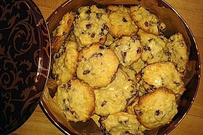 White Chocolate Cranberry Macadamia Cookies 3