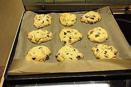 White Chocolate Cranberry Macadamia Cookies 1