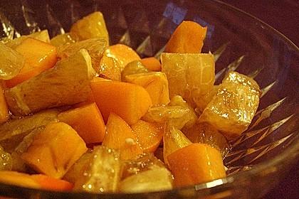 Herzhafter Orangensalat 2