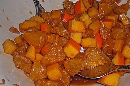 Herzhafter Orangensalat 1