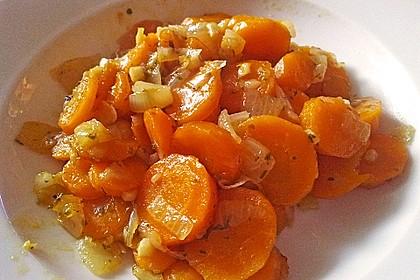 Vegetarische Möhren - Zwiebelpfanne 0