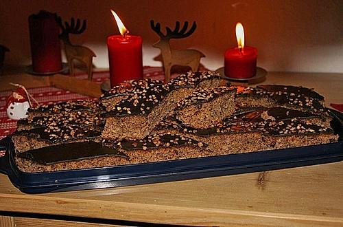 lebkuchen vom blech rezept mit bild von kloster07. Black Bedroom Furniture Sets. Home Design Ideas