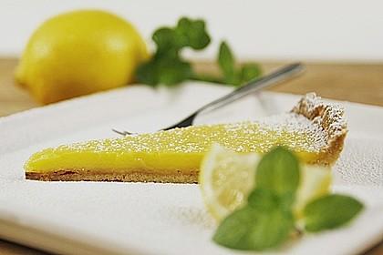 Sommerfrische Zitronentarte