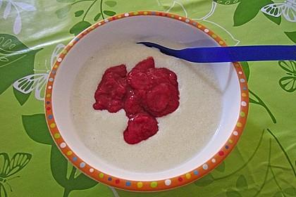 Erdbeer - Grießbrei 3