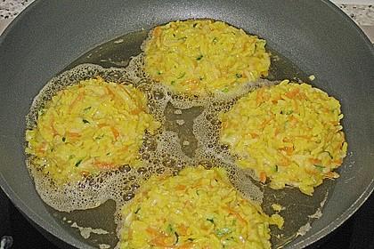 Curryreis - Gemüselaibchen mit Knoblauchdip 2