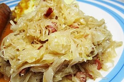 Sauerkraut  böhmisch