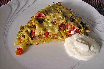 Gemüse - Kartoffelkuchen