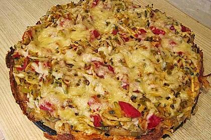 Gemüse - Kartoffelkuchen 1