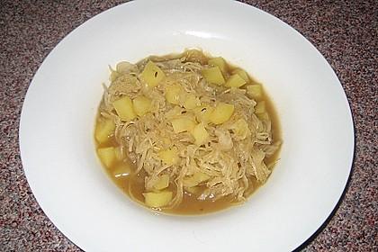 Sauerkraut - Kartoffelsuppe 1