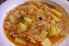 Sauerkraut - Kartoffelsuppe