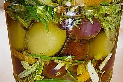 """Eingelegte Oliven """"provenzalische Art"""" 4"""