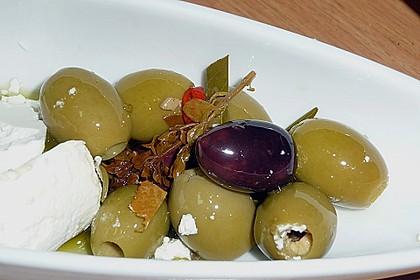 """Eingelegte Oliven """"provenzalische Art"""" 5"""