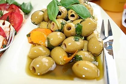 """Eingelegte Oliven """"provenzalische Art"""" 14"""