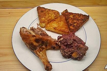 Ente mit Rotkohl gefüllt 3