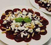 Rote Bete Salat mit Schafkäse & Balsamico - Dressing (Bild)