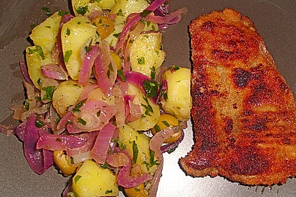 Wiener Schnitzel mit steirischem Kartoffelsalat