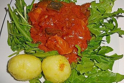 """""""el pavo"""" mit Ingwer und Tomaten 2"""