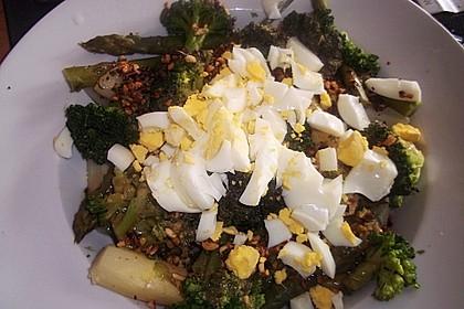 Spargel - Brokkoli - Salat 12