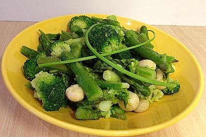Spargel - Brokkoli - Salat 8