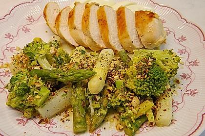 Spargel - Brokkoli - Salat 1