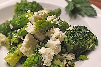 Spargel - Brokkoli - Salat 5