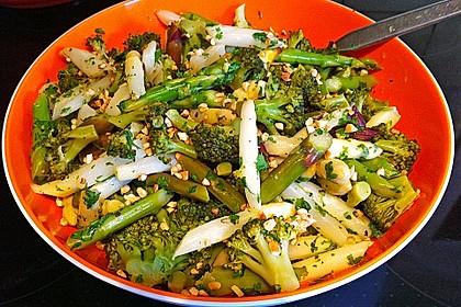 Spargel - Brokkoli - Salat 9