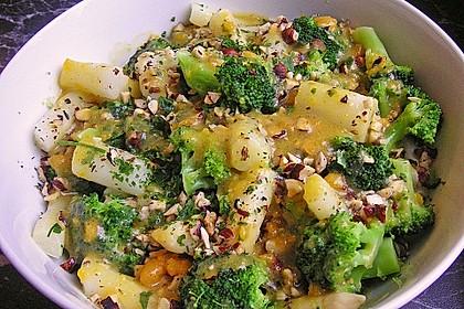Spargel - Brokkoli - Salat 7